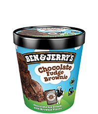 Chocolate Fudge Brownie Original Ice Cream Pint