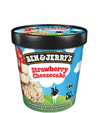 Strawberry Cheesecake Original Ice Cream Pint