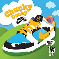 Ben & Jerry's a tus pies: Nike SB lanza las nuevas zapatillas Ben & Jerry's Chunky Dunky Sneakers